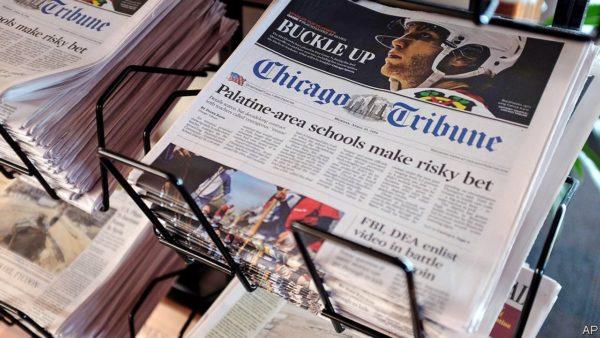 American newspapers – Billionaires battle for Tribune Publishing | Business