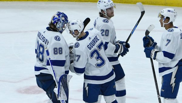 Gourde helps Lightning rally for 6-3 victory over Blackhawks