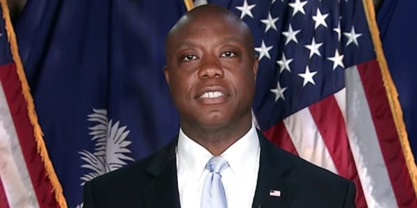 GOP Sen. Tim Scott accuses Left of attacking 'color of my skin'