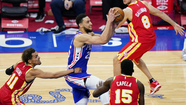76ers use balanced scoring, rout Hawks for 2nd straight game