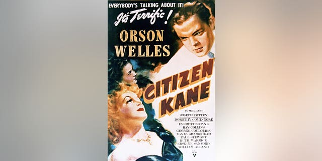 A poster for Orson Welles's 1941 drama 'Citizen Kane'. Welles produced, co-wrote, directed and starred in the film. (Photo by Silver Screen Collection/Getty Images)