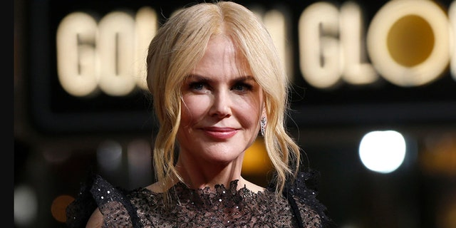 Nicole Kidman was photographed on the Los Angeles set alongside her co-star Javier Bardem, who portrays Desi Arnaz.
