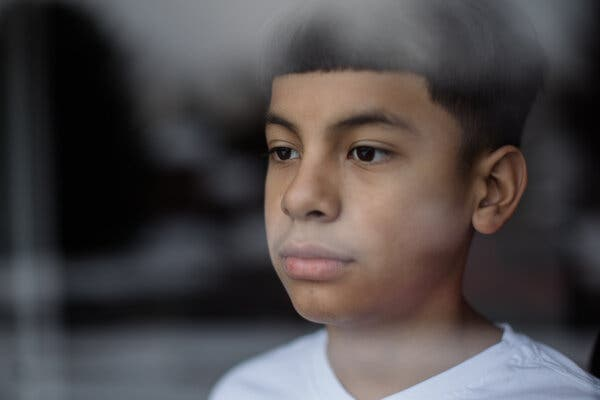 Mayson Barillas, 11, recently recovered from Covid-19 multisystem inflammatory syndrome.