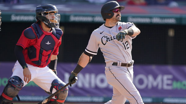 Eaton's HR in 8th sends Chisox past Indians 8-6 in DH opener