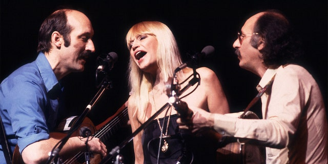 Peter, Paul and Mary, circa 1983 in Chicago.