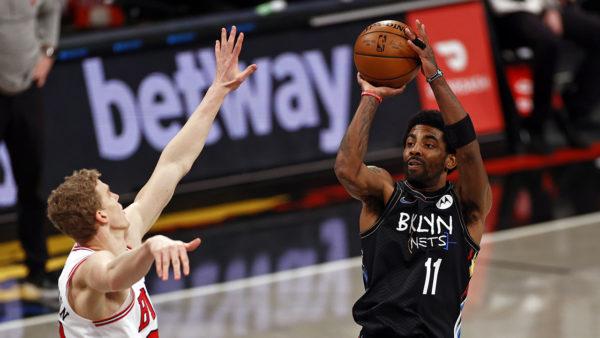 Nets finally get Big 3 back together, beat Bulls 105-91