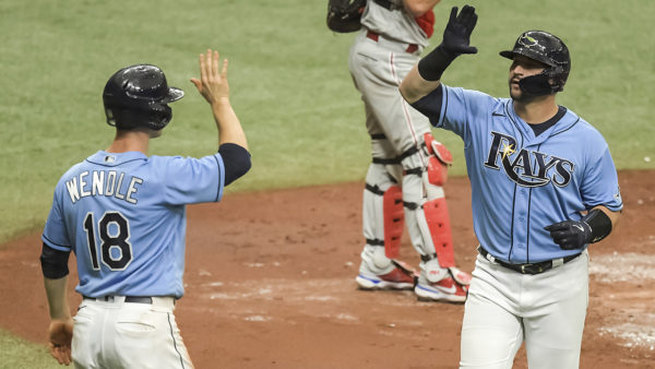 Surging Rays in tight race with Red Sox atop AL East
