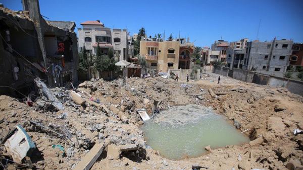 Obama education secretary decries violence Palestinian children facing from Gaza strikes