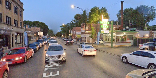 South Prairie Avenue in Chatham, Chicago (Google Maps)