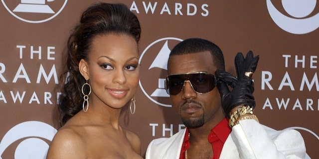 Kanye West and Brooke Crittendon. (Photo by Gregg DeGuire/WireImage for The Recording Academy)
