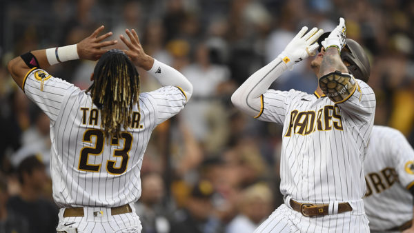Padres beat Dodgers 5-3 for 1st sweep of rivals in 8 seasons