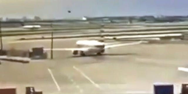 The incident occurred at the Dallas Fort Worth airport on May 28th.