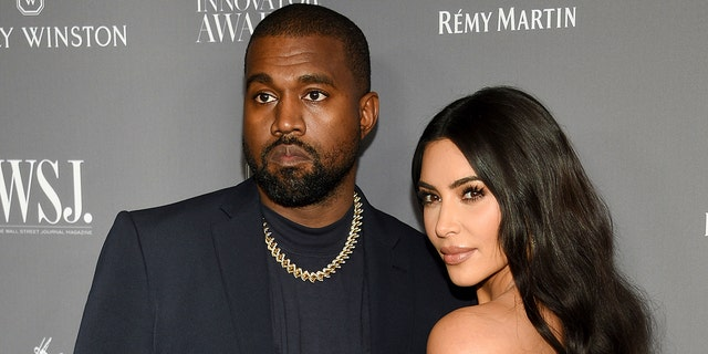 Kim Kardashian filed for divorce from Kanye West in February after nearly seven years of marriage. (Associated Press)