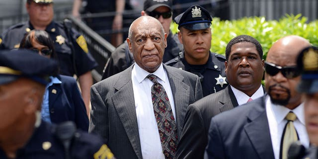 Disgraced star Bill Cosby's sexual assault conviction was overturned and he was released from prison on Wednesday. (Photo by William Thomas Cain/Getty Images)