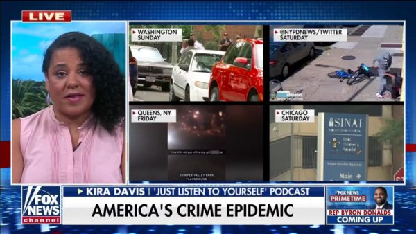 Activists claiming police don't prevent crime like saying 'there's no proof water is wet'; Kira Davis