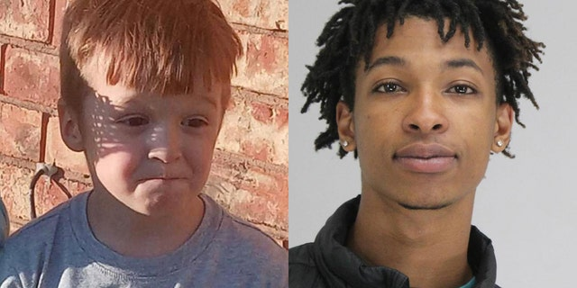 Cash Gernon, 4, was snatched from his bed and brutally stabbed to death over the weekend. Darriynn Brown, 18, right, is facing charges connected to the kidnapping. The former girlfriend of Gernon's father said she hasn't been able to go inside the bedroom where he was abducted.