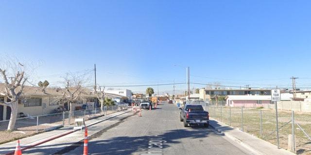 200 block of West Chicago Avenue in Las Vegas (Google Maps)