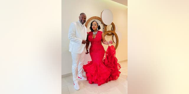 Douglas and Dedra Simmons got married at the Royalton Negril Resort & Spa in Jamaica on Aug. 18, 2021.