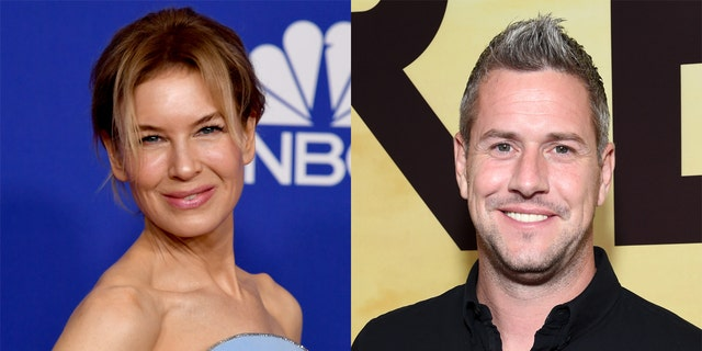 Renee Zellweger and Ant Anstead kept their romance 'secret for a while,' according to Anstead. (Getty Images)