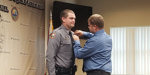 Daytona Beach police officer Jason Raynor, left, tragically passed away Tuesday evening, nearly two months after he was shot in the head during a traffic stop.