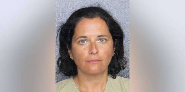 Marina Verbitsky, 46, is accused of telling airport employees a bomb was in her checked luggage after arriving at her gate too late to board the plane.