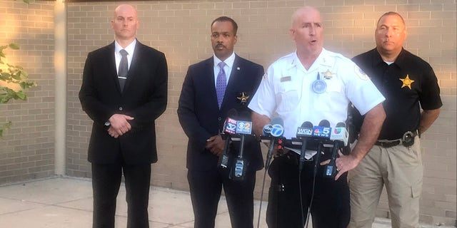 Chicago Police Chief of Patrol Brian McDermott talks of the shooting Sunday that left a 7-year-old girl dead. (Chicago Police)