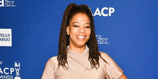 Nkechi Okoro Carroll will reboot 'Life Goes On' and launch a production company as part of an eight-figure TV overall renewal with Warner Bros. (Photo by Rodin Eckenroth/Getty Images)