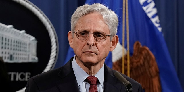 U.S. Attorney General Merrick Garland holds a news conference to announce that the Justice Department will file a lawsuit challenging a Georgia election law that imposes new limits on voting, at the Department of Justice in Washington, D.C., U.S., June 25, 2021.