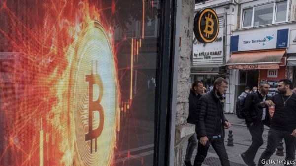 A new bitcoin-linked exchange-traded fund is many things to many people