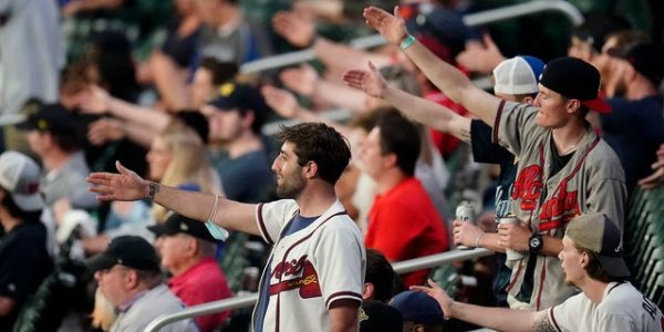 MLB's Rob Manfred defends Braves signature fan celebration 'The Chop'